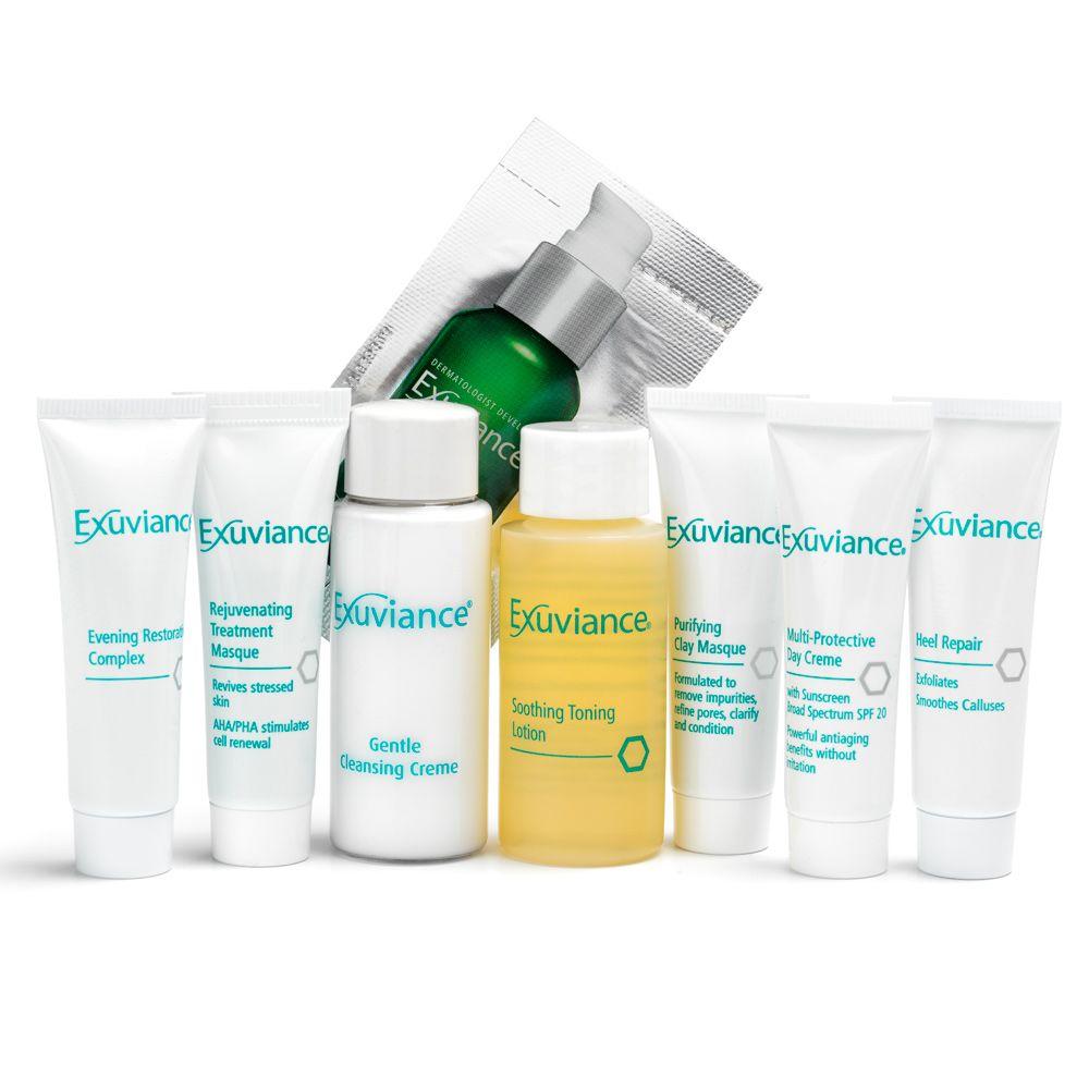 Tule Exuviance – kasvohoitoon heinäkuun aikana, saat hoidon yhteydessä lahjaksi 3kpl matkakokoisia tuotteita!